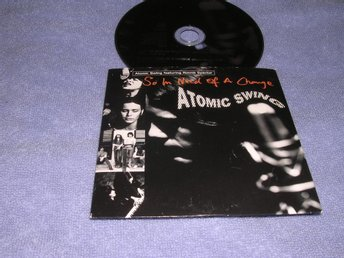 Atomic Swing - So In Need For A Change (cds) 2 trk Nyskick!!