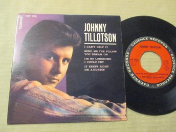 "Johnny Tillotson ""I Can't Help it"""