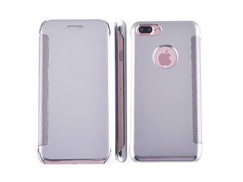Mirror surface fodral till iPhone 7 Plus - Silver - Norsborg - Mirror surface fodral till iPhone 7 Plus - Silver - Norsborg