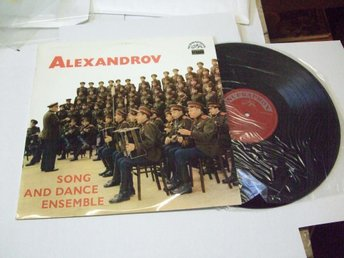 ALEXANDROV Song and dance ensemble Supraphon