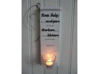 Shabby chic lantlig väggordsljuslykta - Hemse - Shabby chic lantlig väggordsljuslykta - Hemse