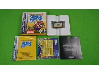 Super Mario Advance 4 Komplett GBA Gameboy Advance Bros 3