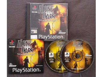 Playstation - Alone In The Dark: The New Nightmare (PAL)