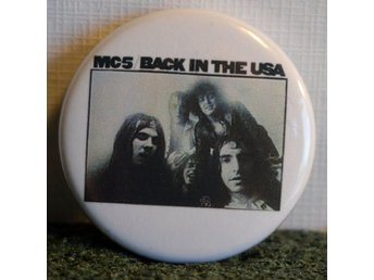 MC5 - badge/pin/knapp - 25 mm