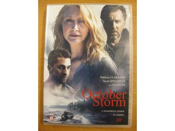 OCTOBER STORM - PATRICIA CLARKSON, SCOTT SPEEDMAN, TIM ROTH - DVD 2016