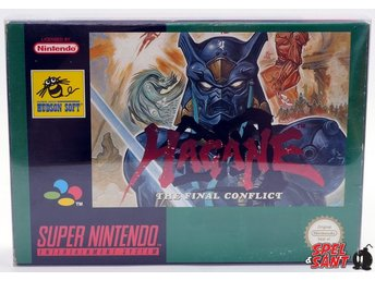 Hagane The final Conflict (inkl. Skyddsbox)