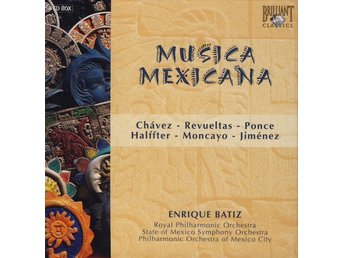 Various - Musica Mexicana (8xCD + Box, Comp)