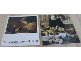 Nationalmuseum Bulletin vol 13 1989 & vol 14 1990
