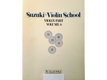 Suzuki violin school volume 6