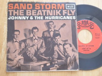 JOHNNY & THE HURRICANES - Sand storm Warwick USA -60 singel