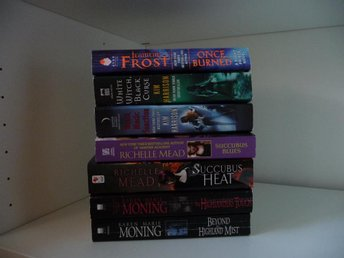 Pocket-young adults-Karen Marie Moning-Jeaniene Frost-