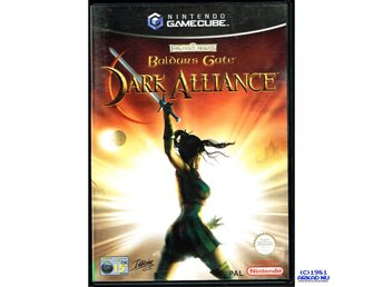 BALDURS GATE DARK ALLIANCE GAMECUBE