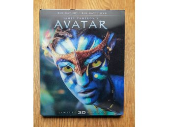 Bluray film - Avatar - Hologram-omslag!