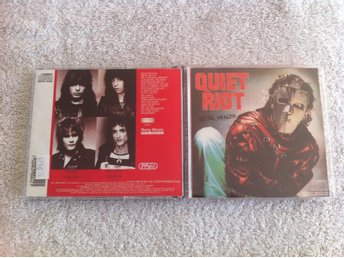 Quiet Riot - Metal Health. Mexikansk pressning.