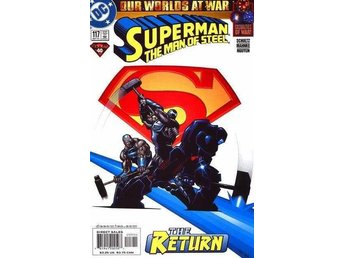 Superman the man of steel #117 2001 VF