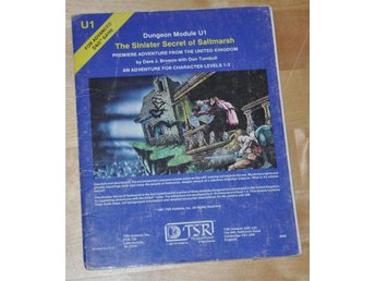 AD&D TSR 9062 U1 The Sinister Secret of Saltmarsh