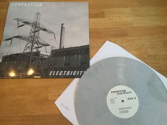 LP: Concretism - Electricity (2016 ltd numbered ed ambient experimental)