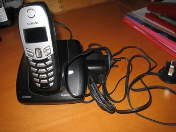 Siemens Gigaset C450. Basstation, 1 laddningsstation, 1 telefon. Elkablar och - örebro - Siemens Gigaset C450. Basstation, 1 laddningsstation, 1 telefon. Elkablar och - örebro