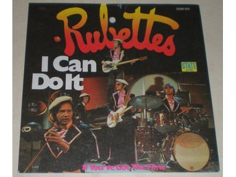 Rubettes SINGELOMSLAG I can do it 1975
