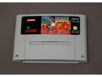 Doom SNES Super Nintendo
