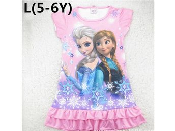 Barn Girls Barn 3D Floral Summer Top klänning 5-6Y Princess L storlek