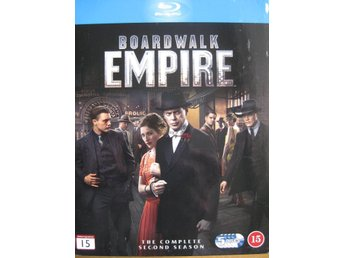 Blu Ray Disc Bluray - Film Filmer - Boardwalk Empire 5 disc Hela säsong 2 - Uddevalla - Blu Ray Disc Bluray - Film Filmer - Boardwalk Empire 5 disc Hela säsong 2 - Uddevalla