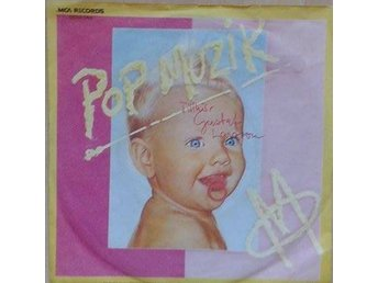M title* Pop Muzik* Synth-pop, Disco Germany 7""