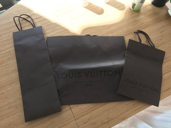 Louis Vuitton 3 påsar