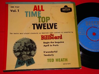 TED HEATH - BEGIN THE BEGUINE EP 1957