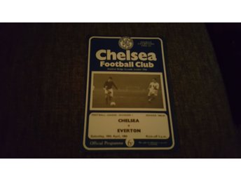 Program Chelsea v Everton 63-64