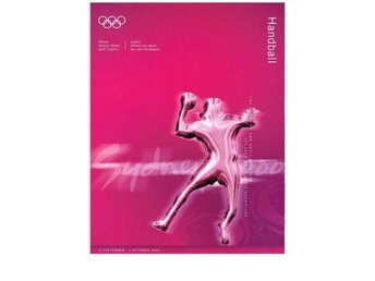 SYDNEY 2000 Offical Olympic Games Sport Program HANDBALL