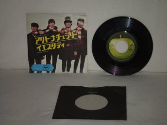 The Beatles  -  Act Naturally       JAPAN PRESS  -  EXC !!!