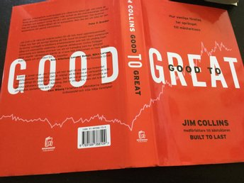 Inbunden From good to great Jim Collins