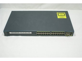 24-port 100Mb + FiberChannel Cisco Catalyst 2960
