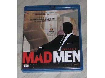 Mad Men - Säsong 2 - Svensk Text (Blu Ray) 2-Disc - Jon Hamm - January Jones