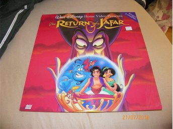 The return of jafar - Walt disney - 1 Laserdisc
