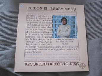 Vinyl Audiofil Direktgravering Barry Miles  1977