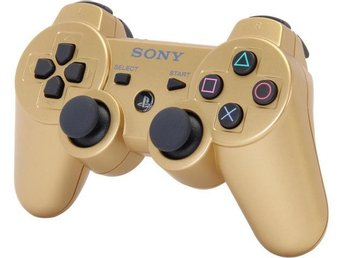 Sony PS3 DualShock 3 - Gold - Playstation 3
