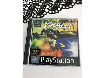 V-rally 97 Championship edition Playstation spel