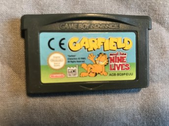 GARIELD AND HIS  NINE LIVES  GAME BOY ADVANCE GBA NINTENDO