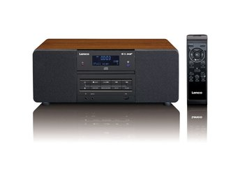 Lenco DAB+/FM-radio med CD/MP3-spelare DAR-050 trä
