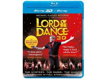 Lord Of The Dance 3D - Inplastad - Bluray Blu-Ray