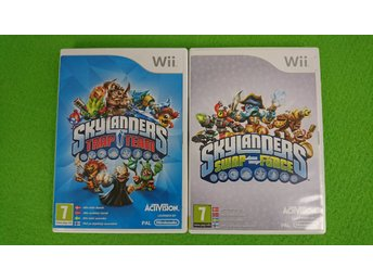 Skylanders Trap Team & Swap Force Nintendo Wii