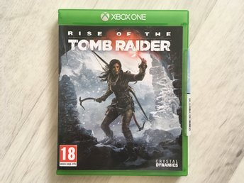 Tomb Raider - Rise Of The - Xbox One spel