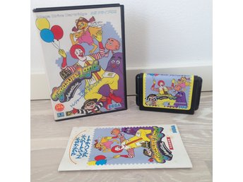 McDonalds Treasure Land Adventure (NTSC/JP) - SEGA MEGA DRIVE treasureland