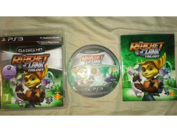 Ratchet & Clank Trilogy: HD Collection PS3