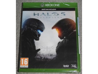 HALO 5 Guardians - XBOX ONE SPEL INPLASTAD NY