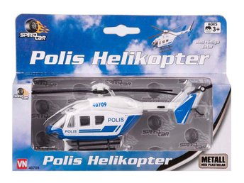 Speed Car Rescue Team - Polis Helikopter