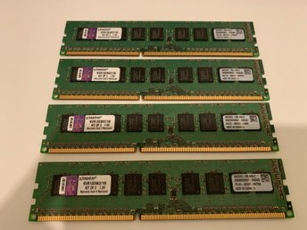 Kingston 16GB (2 x 8GB) 240-Pin DDR3 SDRAM ECC Unbuffered DDR3 1333 Server Mem