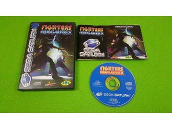 Fighters Megamix KOMPLETT Sega Saturn